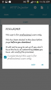 Http injector disclaimer free net