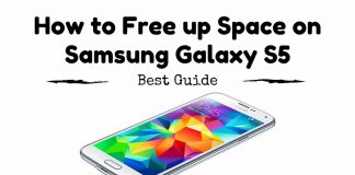 How to Free up Space on Samsung Galaxy S5
