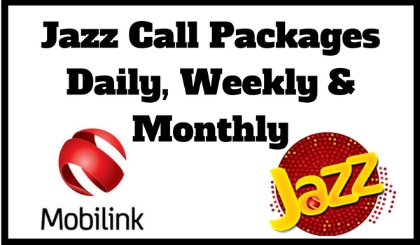 Jazz Call Packages Daily Weekly Monthly Unlimited Latest