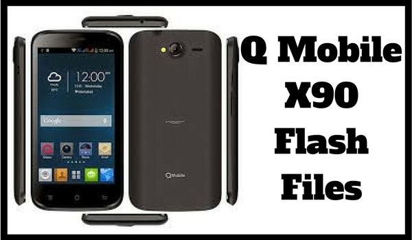 QMobile x90 Flash File Download 100% Tested MT6572 Scatter File