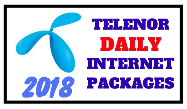 Telenor Daily Internet Packages 2018