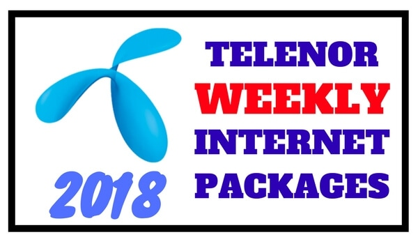 Telenor Weekly Internet Packages 2018