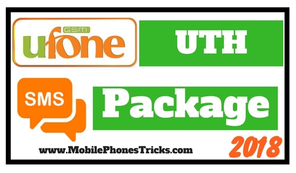 Ufone Uth SMS Package 2018 - Unlimited SMS for 30 Days
