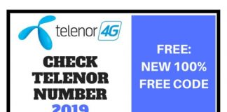 How to Check Telenor Number 2019