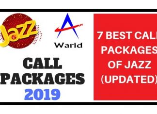 Jazz Call Packages 2019