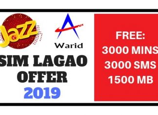 Jazz Sim Lagao Offer 2019