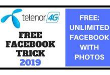 Telenor Free Facebook Trick 2019
