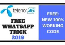 Telenor Free WhatsApp Trick 2019