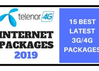 Telenor Internet Packages 2019