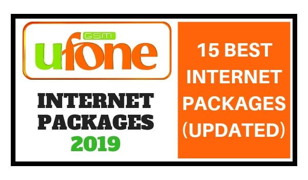 Ufone Internet Packages 2019 Best Pkgs