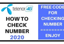 How to Check Telenor Number