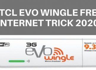 PTCL Evo Wingle Free Internet Trick 2020
