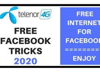 Telenor Free Facebook Trick 2020