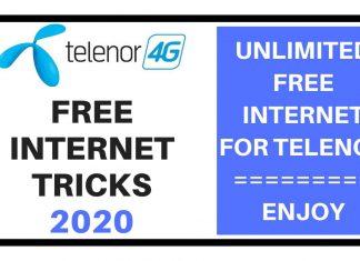 Telenor Free Internet Tricks 2020