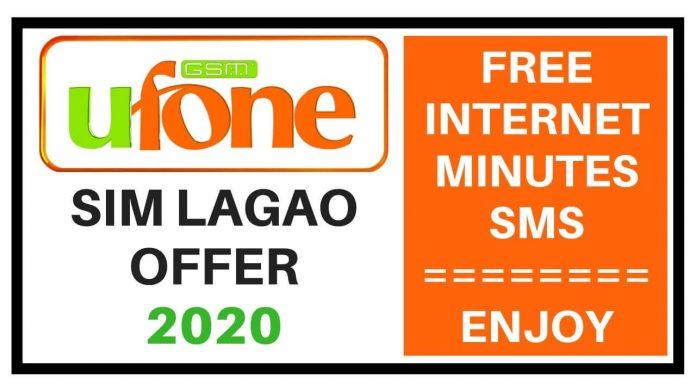 Ufone Sim Lagao Offer 2020