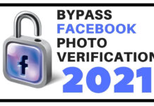 Bypass Facebook photo verification 2021