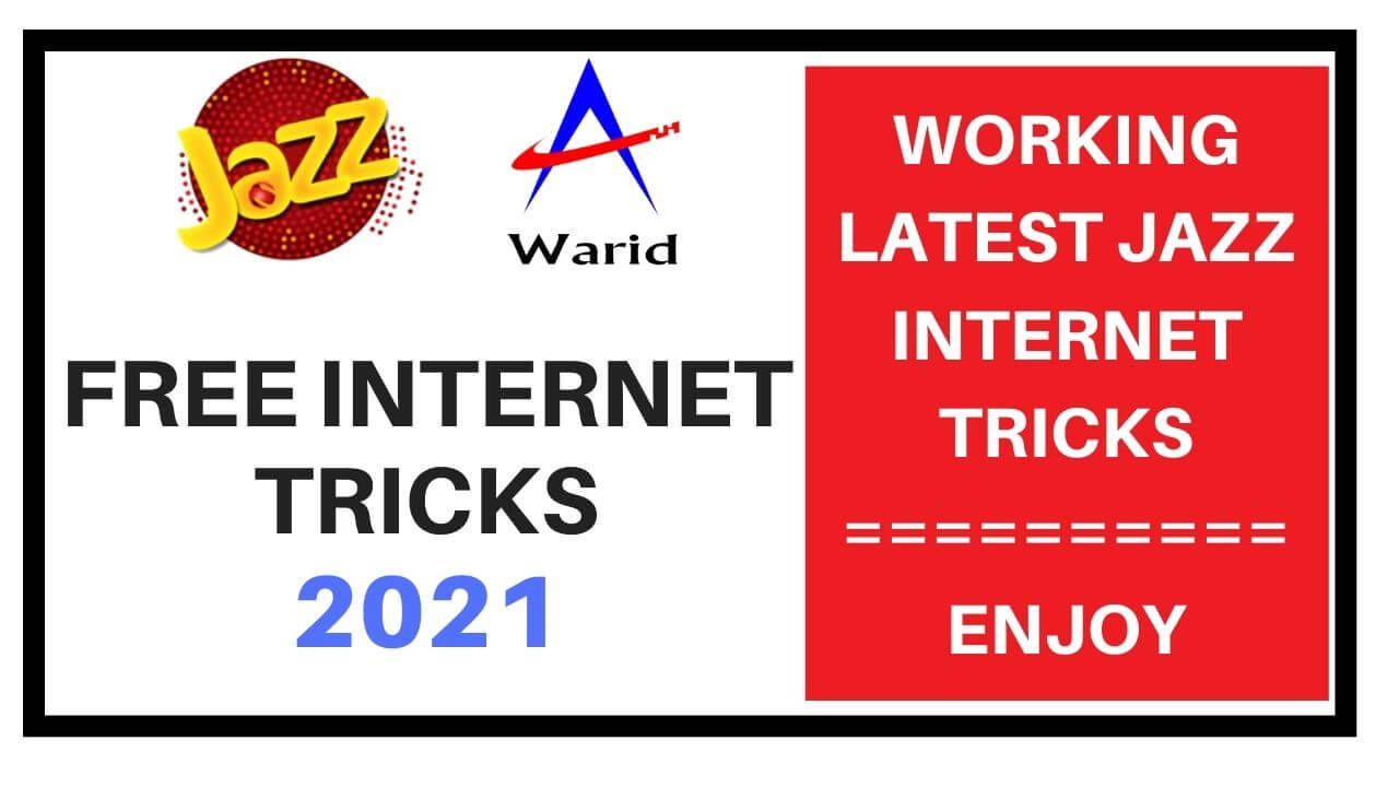 Jazz free internet tricks 2021