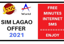 Jazz sim lagao offer 2021