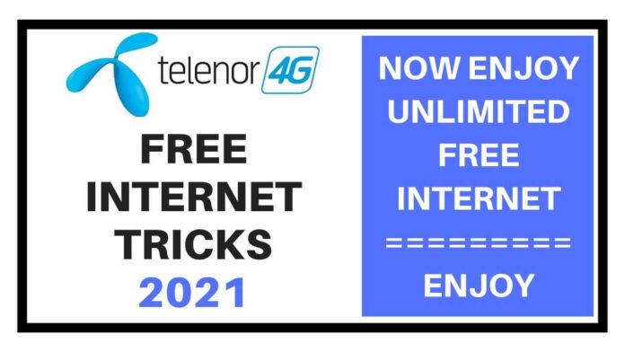 Telenor free internet tricks 2021