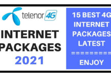 Telenor internet packages 2021