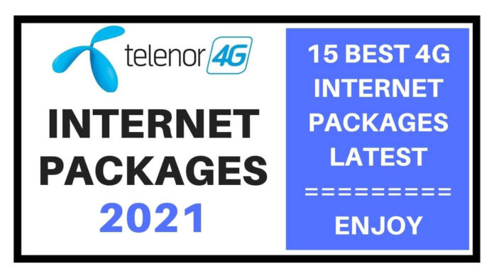 Telenor internet packages 2021
