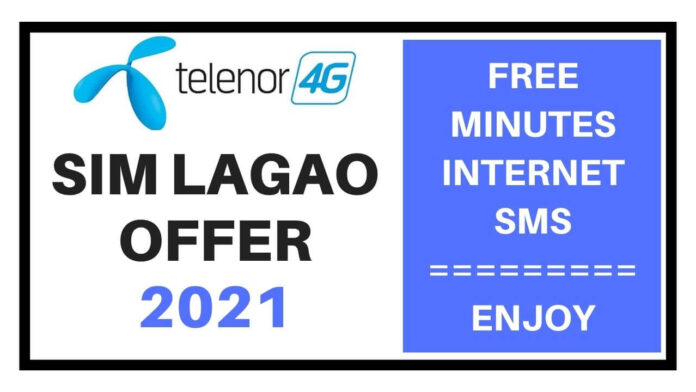 Telenor sim lagao offer 2021
