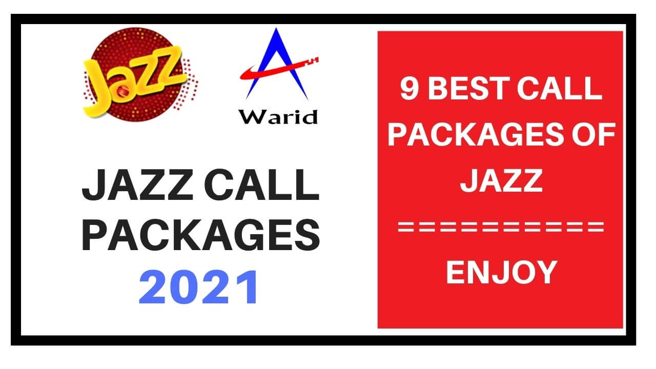 jazz call packages 2021