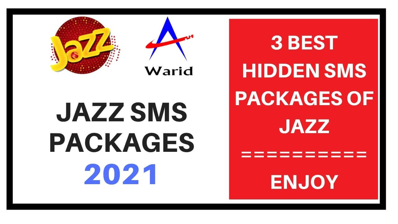 jazz sms packages 2021